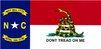 Gadsden Bumper Sticker - North Carolina