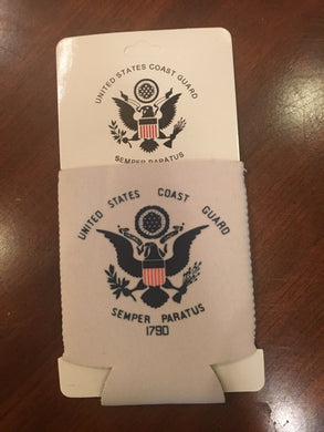 US COAST GUARD CAN HOLDER NEOPRENE