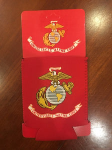 UNITED STATES MARINES CAN HOLDER NEOPRENE