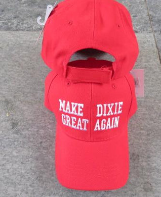 MAKE DIXIE GREAT AGAIN CAPS REBEL