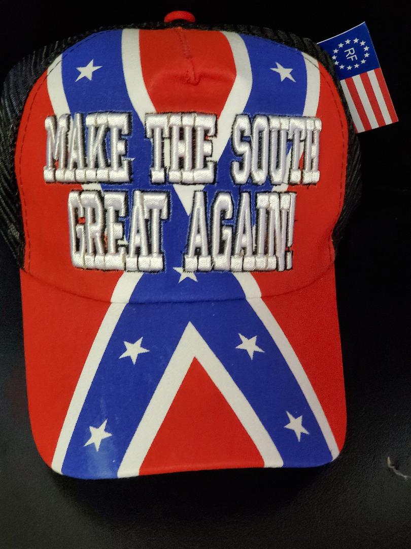 MAKE THE SOUTH GREAT AGAIN CAP EMBROIDERED MESH BACK