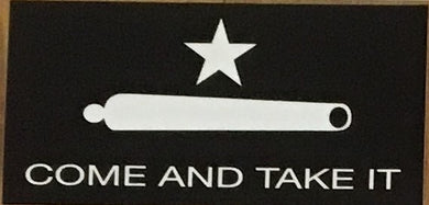 COME AND TAKE IT OFFICIAL BUMPER STICKER PACK OF 50 BUMPER STICKERS MADE IN USA WHOLESALE BY THE PACK OF 50!