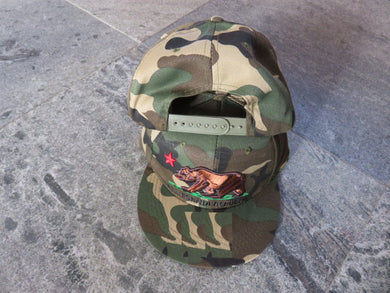 *IN STOCK* California  Republic Camo  - Cap