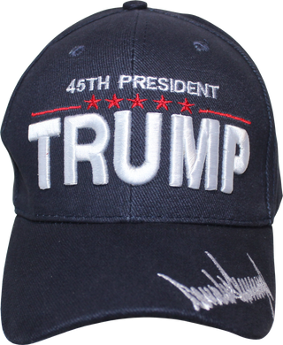 * SOLD OUT* Cap - Trump 45th President Signature Series