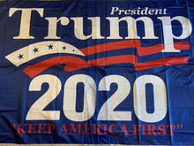 President Trump 2020 Keep America First KAF Rough Tex® 68D Nylon 6'X10' XXXL Flag (With Three Grommets)