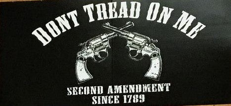 DON'T TREAD ON ME SECOND AMENDMENT SINCE 1789 OFFICIAL BUMPER STICKER PACK OF 50 BUMPER STICKERS MADE IN USA WHOLESALE BY THE PACK OF 50!
