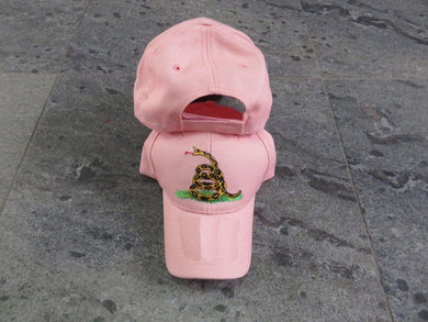 *IN STOCK*  Don't Tread On Me Gadsden Pink- Cap