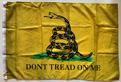 Gadsden Vintage Original Flag 2'x3'- Rough Tex® 100D