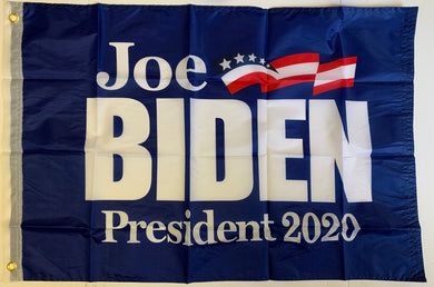 Joe Biden Democratic Party 2020 Presidential Blue Single-Sided Flag Banner 2'x3' Rough Tex® 68D Nylon