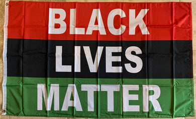 Black Lives Matter 3'X5' Flag Rough Tex® 100D