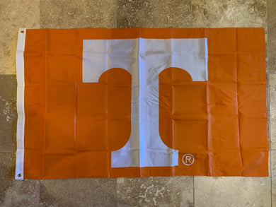 Tennessee Volunteers T VOLS Double-Sided Officially Licensed College Flag- USC® 3'X5'