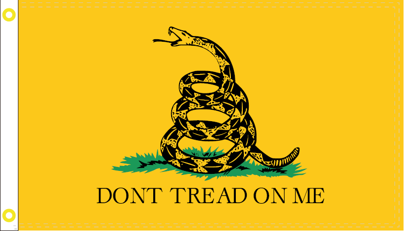 GADSDEN  OFFICIAL FLAG 3X5