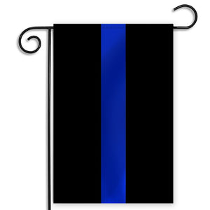 Back the Blue Garden Flag