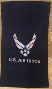 "USAF U.S. AIR FORCE GARDEN FLAG 12""X18"""
