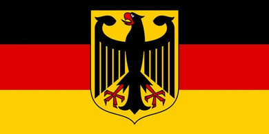 Germany with Eagle Bumper Sticker