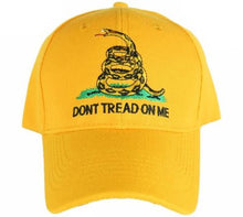 12 GADSDEN DON'T TREAD ON ME CAP (NATURAL GOLDEN YELLOW)