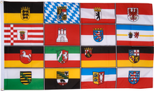 German States Landers (all 16) 3'x5' economical flags sold by the half dozen Germany State Flags