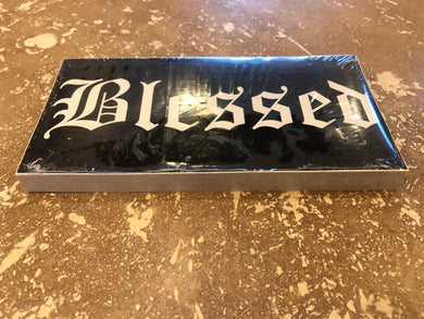 BLESSED OFFICIAL BUMPER STICKER PACK OF 50 BUMPER STICKERS MADE IN USA WHOLESALE BY THE PACK OF 50!