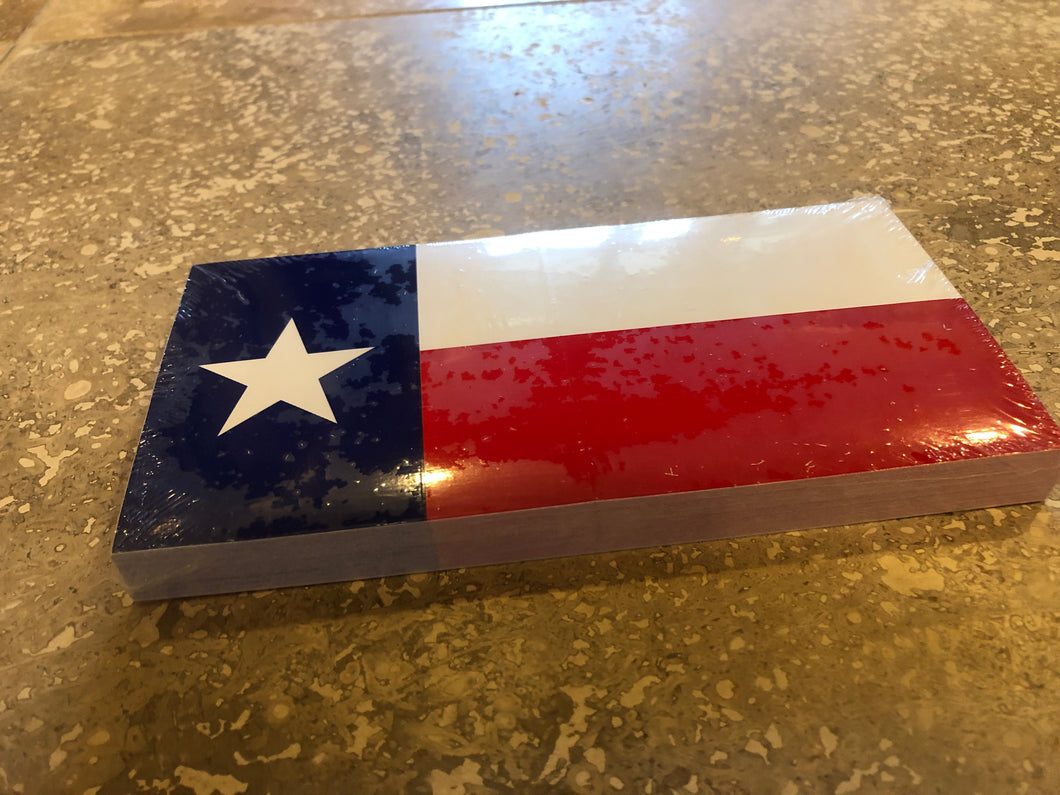 TEXAS FLAG OFFICIAL BUMPER STICKER PACK OF 50 BUMPER STICKERS MADE IN USA WHOLESALE BY THE PACK OF 50!