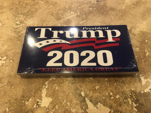 "TRUMP 2020 ""KEEP AMERICA GREAT"" OFFICIAL BUMPER STICKER PACK OF 50 BUMPER STICKERS MADE IN USA WHOLESALE BY THE PACK OF 50!"