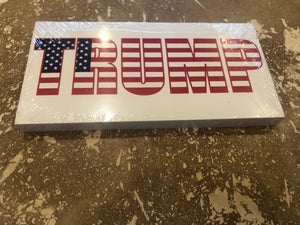 TRUMP OFFICIAL BUMPER STICKER PACK OF 50 BUMPER STICKERS MADE IN USA WHOLESALE BY THE PACK OF 50!