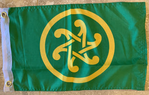 "Pan Celtic 12""X18"" Flag W/ Grommets Rough Tex® 100D"
