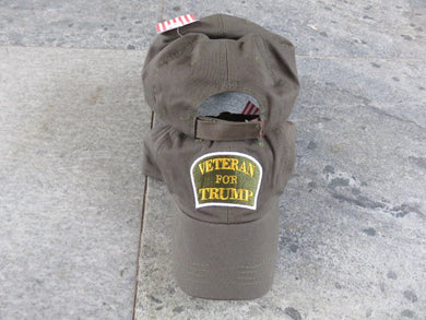 VETERAN FOR TRUMP CAP
