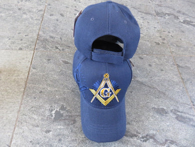 *IN STOCK*  Freemason Blue- Cap
