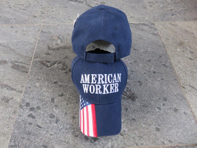 *SHIPS OUT JUNE 25th* American Worker - Cap