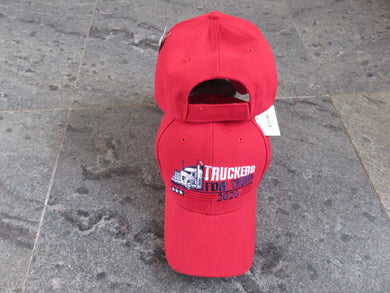*SHIPS OUT JUNE 25th* Truckers For Trump Red - Cap