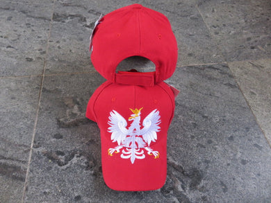 *SHIPS OUT JUNE 25th*  Poland Eagle Crest- Cap