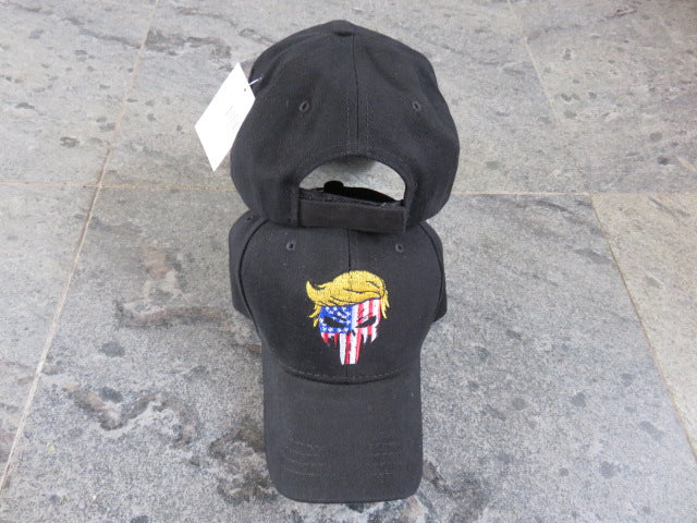 Punisher Trump Stars And Stripes- Cap