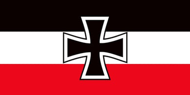 German Imperial Naval Jack Bumper Sticker