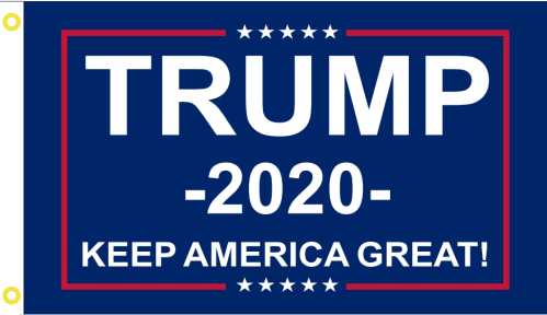 6'x10' TRUMP 2020 KEEP AMERICAN GREAT 68D FLAG