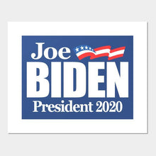 "*SHIPS JUNE 15th* Joe Biden 2020 Blue Double Sided Yard Sign 14.5""X 23"" Inches"