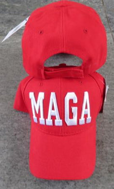 M A G A  TRUMP RED CAP