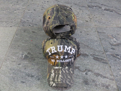 *IN STOCK*  Trump No Bullshit Camo  - Cap