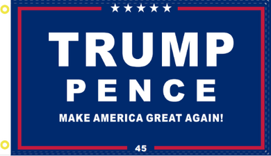 3'X5' 100D  TRUMP PENCE OFFICIAL PRESIDENTIAL FLAG