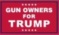 3'X5' 100D  GUN OWNERS FOR TRUMP FLAG