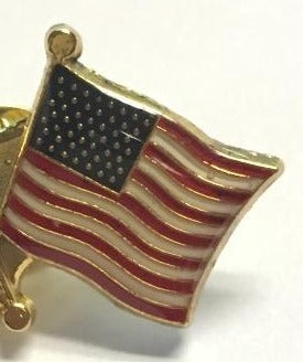 AMERICAN USA NAVY JACK BATTLE FLAGS Cloisonne Lapel Pins