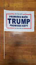 Assorted Trump Design 12''X18'' Stick Flags Starter Pack