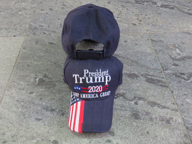 *IN STOCK*  President Trump 2020 Keep America Great KAG Navy   - Cap