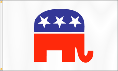 Republican 3x5ft Nylon 150D Flag