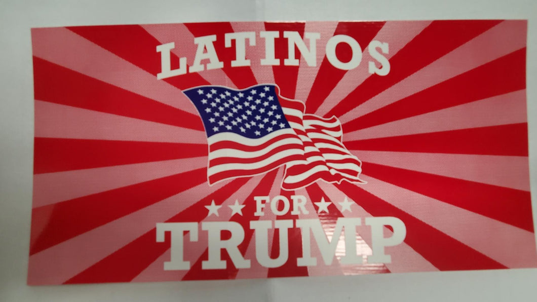 Latinos For Trump  - Bumper Sticker