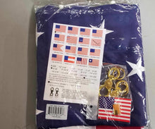American 5'X8' U.S.A Flag With Embroidered Stars & Sewn Stripes 100% Rough Tex® 300D Nylon