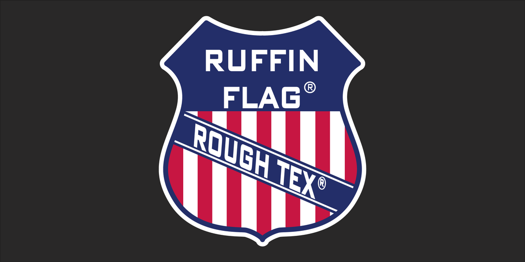 Ruffin Flag Rough Tex® - Bumper Sticker