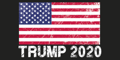 TRUMP 2020 USA FLAG AMERICAN VINTAGE OFFICIAL BUMPER STICKERS PACK OF 50 WHOLESALE