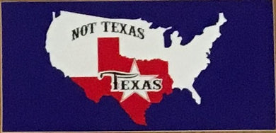 SUPERIOR TEXAS OFFICIAL BUMPER STICKER PACK OF 50 BUMPER STICKERS MADE IN USA WHOLESALE BY THE PACK OF 50!
