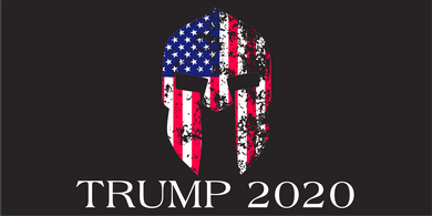 Stars And Stripes Gadsden Warrior Trump 2020  - Bumper Sticker