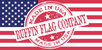 Ruffin Flag Company Made In The USA- Bumper Sticker